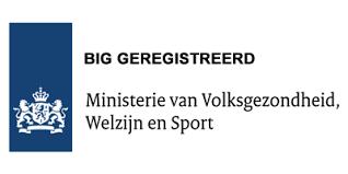 BIG registratie logo | Fysiotherapie Schipper